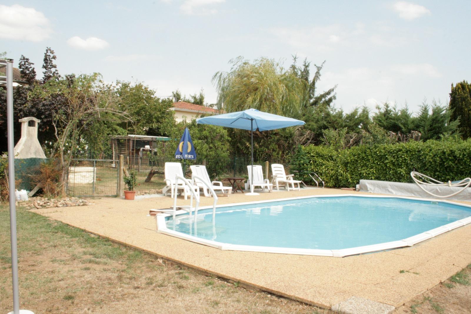 Maison piscine chauff e for Prix piscine chauffee